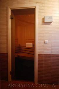 Стеклянные двери для бани, сауны