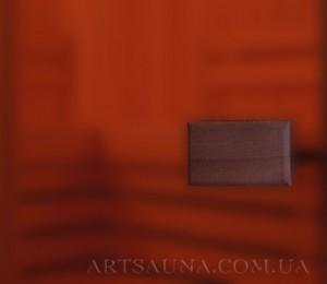 Бронза матовая - стекло для дверей сауны