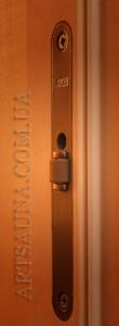 Надёжная защелка для двери в сауну