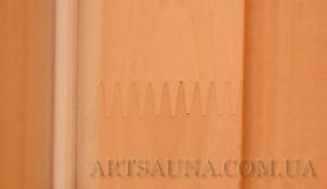 Деревянная коробка для двери в сауну