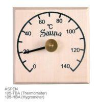Термометры, гигрометры, часы