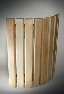 Деревянный абажур