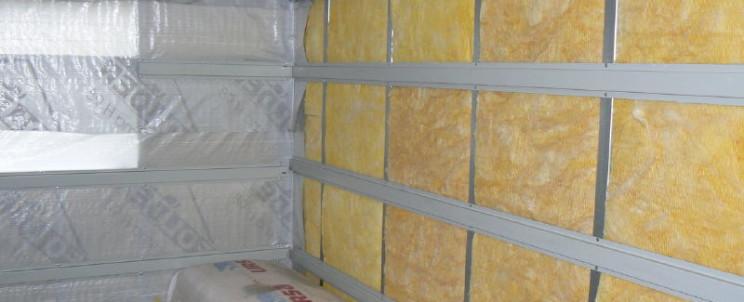 Безопасная теплоизоляция сауны минеральной ватой