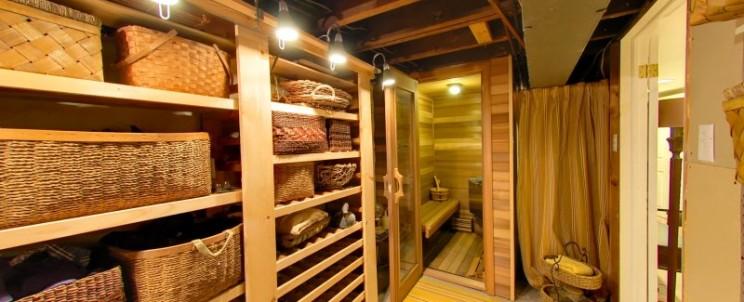 Разрешено ли строить сауну в жилом доме
