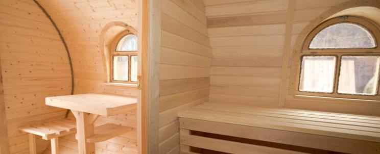 окна в бане и сауне