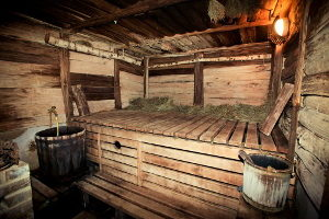 Русская баня температура и влажность